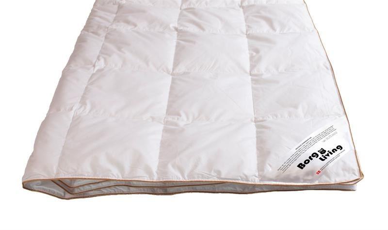 Sommerdyne med 100% moskusdun fyld, en let og luftig sommerdyne som dobbelt dyne 200x200cm