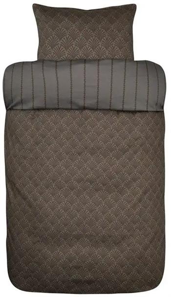 Høie sengetøj - Bomuldssatin - 140x220 cm - Høie of Scandinavia - Amanda Antracit