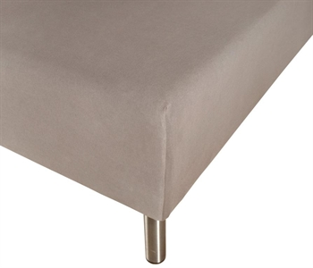 Boxlagen 140×200 cm – Antracitgrå – 100% Bomulds percale – Faconlagen til madras