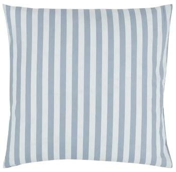Pudebetræk 60x63 cm - Stripes Blue - Blå - 100% Bomuld