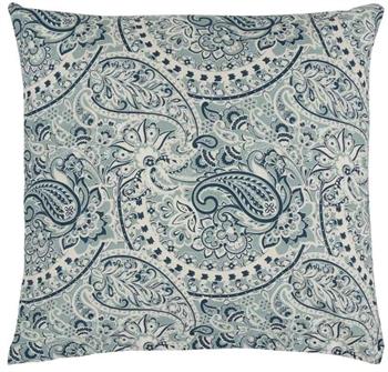 Pudebetræk 60x63 cm - Esther Blue - Blå - 100% Bomuld